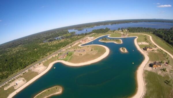 Island Lake Castle Rock Lake Wisconsin Pavloski Development 2016