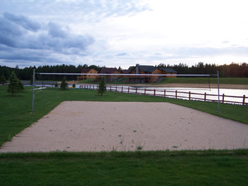 Clubhouse Sand Volleyball