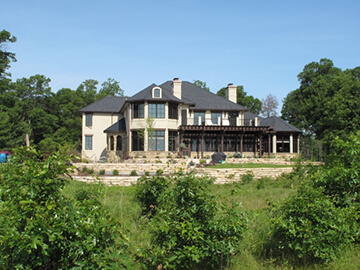 Sample of typical homes being built at Copper Point