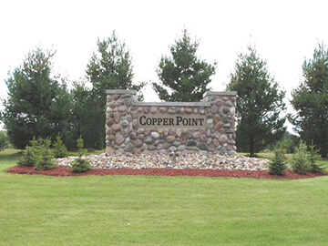 Entrance to Copper Point