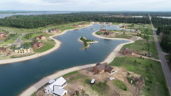 Castle Rock Lake Wisconsin Pavloski Development